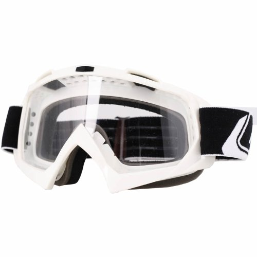 6024B-204 - Oneal Blur B-Flex Plain Motocross Goggles White