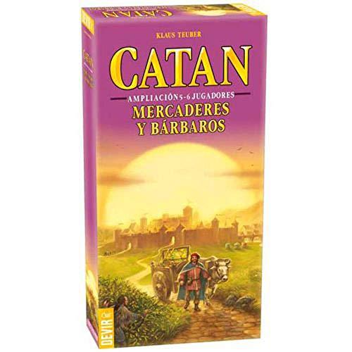 Devir Catan Mercaderes y Bárbaros - Expansión 5-6 Jugadores