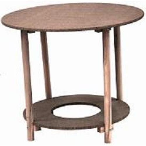 Monchy - mesa camilla redonda madera 100 cm , 080604