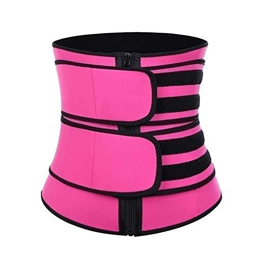 Cinturón Trimmer Cinturón Traisor de cintura para mujeres y hombres Slim Body Sweat for Weight Pérdida de peso Multa de grasa ajustable Banda de vientre ajustable Soporte lumbar Wrap de neopreno