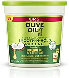 [new package] ORS OLIVE OIL SMOOTH - N - HOLD PUDDING 13 OZ