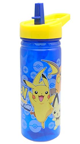 Zak! - Botella Flip 'n' Flow de Pokemon con «Pikachu», 600 ml