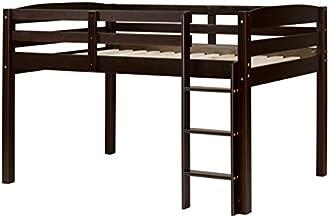 Concord Junior Loft Bed, Twin, Cappuccino