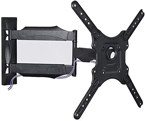 Soporte de montaje en la pared de TV Adecuado para soporte de TV 32-55In VESA400x400mm Ajuste horizontal articulado giratorio VESA400x400mm Ajuste horizontal +/- 3 deg;Distancia de la pared 54-500mm L