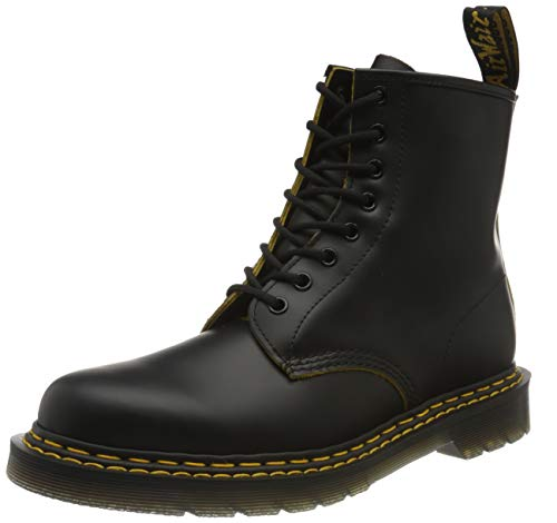 Dr. Martens Unisex DM26100032_39 bovver Boots, Black, EU