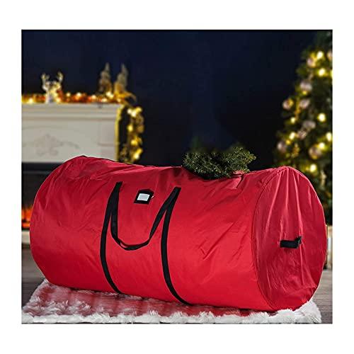 TBUDAR Christmas tree storage bag,Christmas Tree Ornament Storage Box Xmas Baubles Bag Sturdy Zip Up Cover Sack with Carry Handles Christmas Decoration Storage Bag