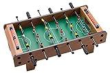 FSJD Mesa futbolín, Mesa de Billar de Madera Mini Juego, fácilmente Ensamble de fútbol de la Competencia del Juego de Mesa, Mesa Rompecabezas Dedo Batalla Atlética de fútbol Partido de fútbol