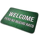 AmyNovelty WH-CLA Doormat,Welcome Mat Welcome Pero No Mucho Rato Tapete para Puerta Alfombrilla Antideslizante Alfombra para El Tapete Interior The Way De Entrada, 40x60cm