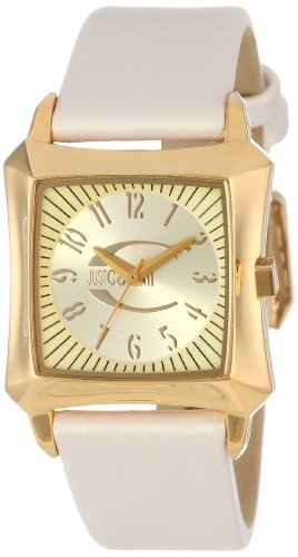 Just Cavalli R7251106517 – Reloj de acero inoxidable con hoja dorada para mujer