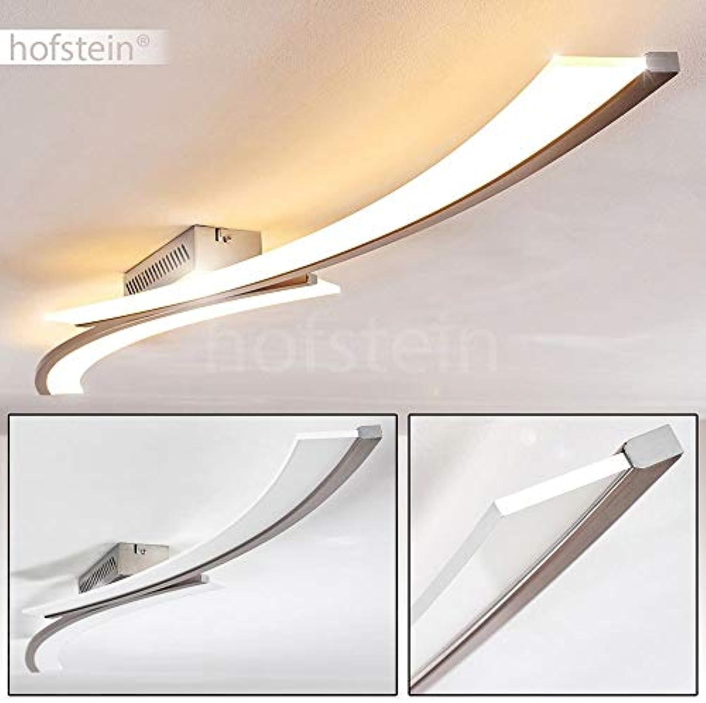 LED Decken-Leuchte Orgia – 3000 Kelvin warmweies gemütliches Licht – Wohnzimmerlampe – Flurlicht – Küchen-Beleuchtung