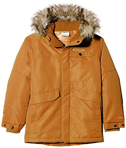 Columbia Sportswear Jungen Nordic Strider Jacke, Canyon Gold, L
