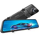 "Best Car Dash Cameras - VanTop H612 12"" 2.5K Mirror Dash Cam Review"