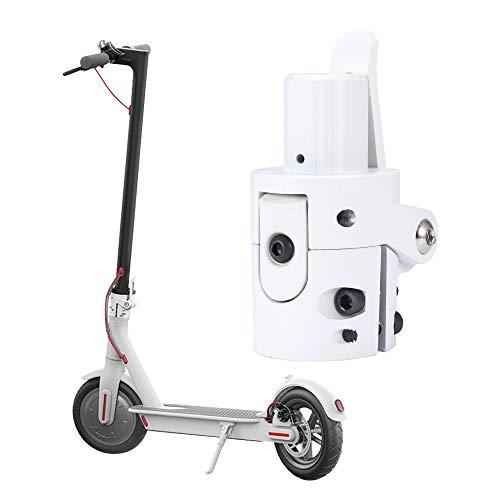 ONEVER Scooter eléctrico Varilla de Gancho Plegable Base de Poste Plegable Tornillo de Bloqueo Accesorios de Scooter Piezas de Repuesto para Xiaomi M365 Scooter eléctrico