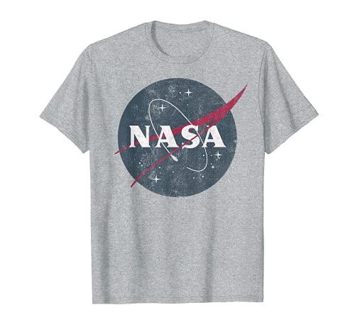 NASA Simple Vintage Logo Camiseta