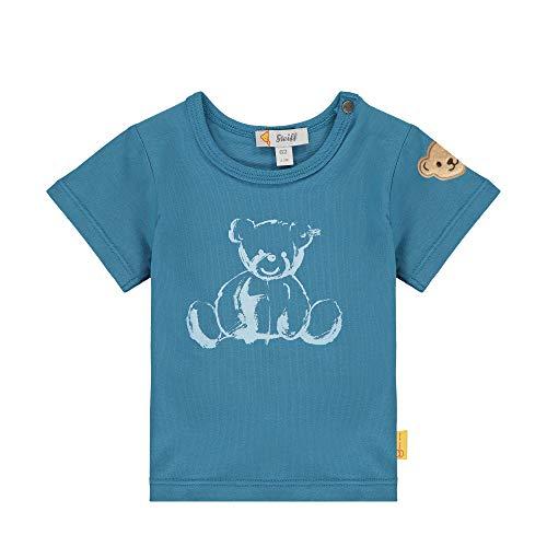 Steiff Shirt, Turquoise (Faience 6042), 1 Mois Fille