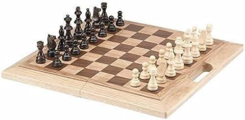 CHH importen 40,6cm Eiche Faltbares Schach-Set