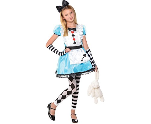 amscan 847241-55 Costume Alice 8-10 ans 1 pièce
