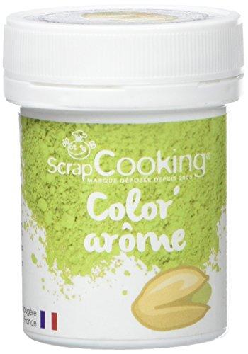 Scrapcooking Color 'Arôme Vert/Pistache 10 g