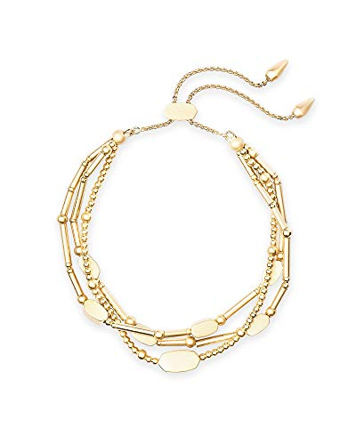 Kendra Scott Chantal Beaded Bracelet for Women, Fashion Jewelry, 14k Gold-Plated