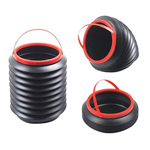 ZTKBG Auto vuilnisbak, 4L intrekbare draagbare vuilnisbak, thuis outdoor intrekbare inklapbare emmer accessoires