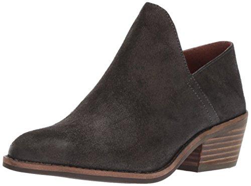 Lucky Brand Women's Fausst Ankle Boot, Grey Night, 9.5 Medium US