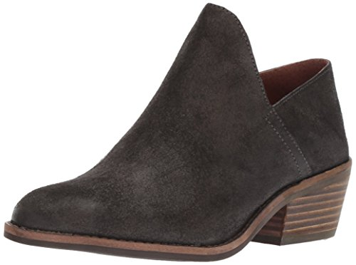 Lucky Brand Women's Fausst Ankle Boot, Grey Night, 9 Medium US