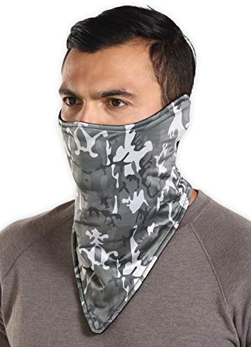 Half Face Balaclava Ski Mask for Cold Weather - Men's Winter Face Warmer For Skiing, Snowboarding, Running & Motorcycling
