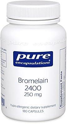 Pure Encapsulations - Bromelain 2400 250 mg. 60's