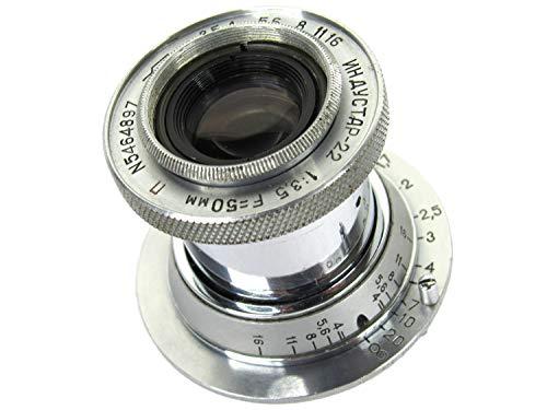 ※オールドレンズ※INDUSTAR-22 50mm/f3.5 沈胴式 Lマウント オーバーホール済