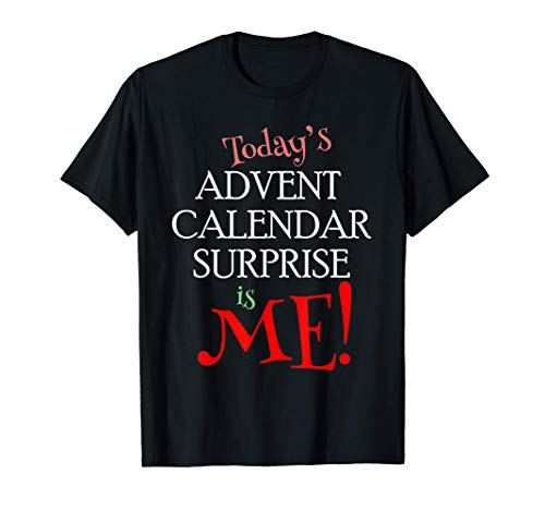Advent Calendar Christmas Couples Humor T-Shirt