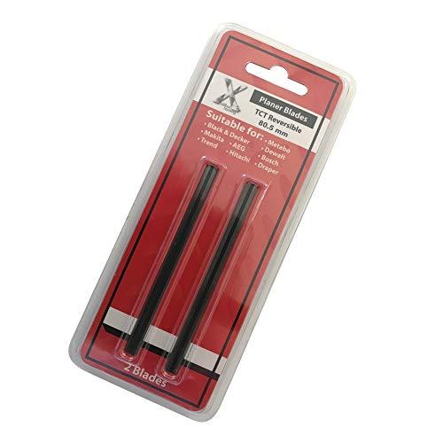 Cuchillas para macetas de 80 mm, 2 unidades, compatibles con Makita, DeWalt, Bosch, Ryobi, Hitachi