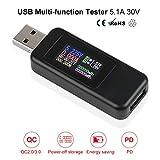 Innovateking-EU USB Tester Meter Voltmeter USB Multimeter USB Spannungsprüfer Amperemeter...