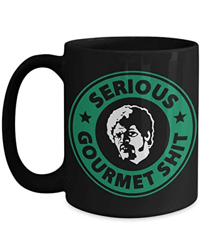 Goddamn Coffee Mug, Jimmy Mug. Some Serious Gourmet Shit Coffee Tea Mug, Funny Coffee Mug 11Oz 15Oz Black