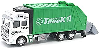 Dazzling Toys Garbage Truck Car with Trash Can