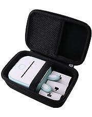 用の 収納ケース Phomemo T02 サーマルポケットプリンター 専用収納ケース-WERJIA JP (黒)