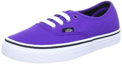Vans U AUTHENTIC - Zapatillas de lona unisex, color violeta (prism violet/bl), talla 44