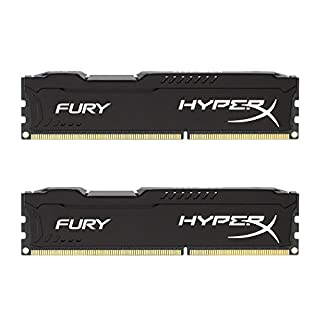 HyperX HX318C10FBK2/16 FURY Black, 16 GB, 1866 MHz DDR3 CL10 DIMM (Kit of 2) (B00J8E8Y5C) | Amazon price tracker / tracking, Amazon price history charts, Amazon price watches, Amazon price drop alerts