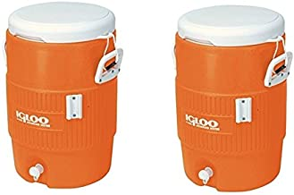 Igloo 5 Gallon Seat Top Beverage Jug with spigot - (2-Container)