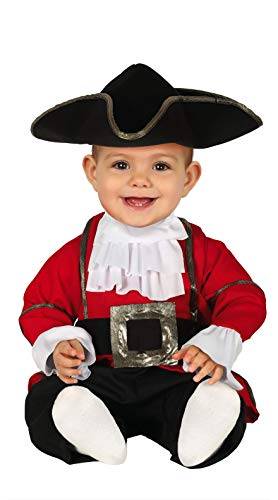FIESTAS GUIRCA Disfraz de Pirata bebé recién Nacido