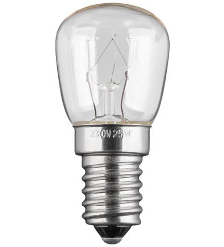 Kühlschranklampe E14, 25W, 230V AC