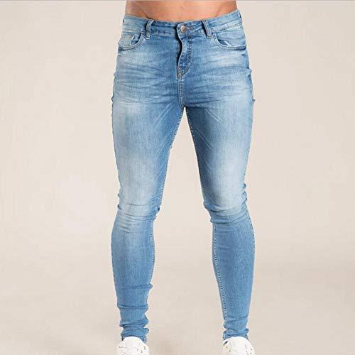 Jeans Vaqueros Pantalon Pantalones De Mezclilla Lavados para Hombre Pantalones Vaqueros Ajustados A La Cadera Streetwear Casual Negro Azul Pantalones Vaqueros para Hombre Pantalones De Mezcl