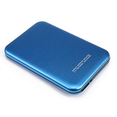 iScooter Externes 2TB-Festplattenlaufwerk, Externe USB 3.0-SSD-Festplatte, tragbare Externe 3,5-Zoll-Festplatte für Mobile Festplatten für Desktop-Laptops, Notebooks
