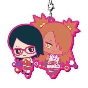 Boruto Naruto Next Generation It's Capsule Rubber Mascot! Sarada & Chouchou