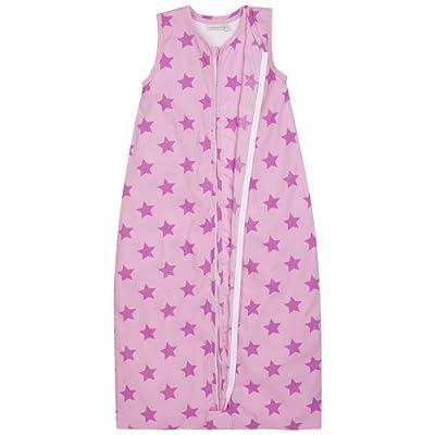 JOJO Maman Bébé–Saco de dormir 3en 1Rosa diseño de estrella