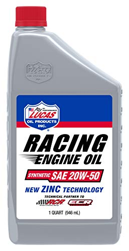 Lucas Oil 10615 20W-50 Synthetic Racing Oil - 1...