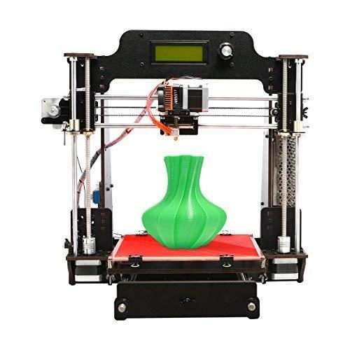 GEEETECH Impresora 3D de madera Prusa I3 Pro W Kit de bricolaje con WIFI Cloud, Tamaño de impresión 200x200x180mm Soporte para conexión Wi-Fi, Aplicación EasyPrint 3D
