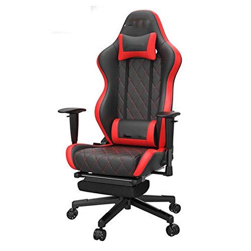 E-sports silla de juego silla de ordenador Boss cómodo respaldo sedentario asiento reclinable para oficina en casa silla giratoria ergonómica para juegos de carreras estilo silla de oficina