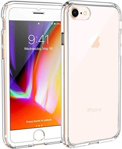 Hülle kompatibel mit iPhone SE 2020, Syncwire iPhone 8 iPhone 7 Schutzhülle mit Extrem Hohen Fallschutz und Luftkissen-Technologie Handyhülle für Apple iPhone SE 2020/8/7 4.7 Zoll, Kristallklar