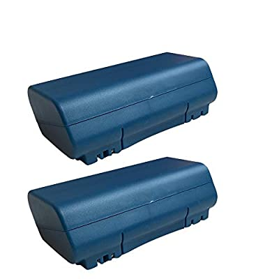 Think Crucial 2 Replacements for iRobot 14.4v, 3500mAh Batteries Fit Scooba Series, Compatible with Part # 5900, Long Lasting & Rechargeable