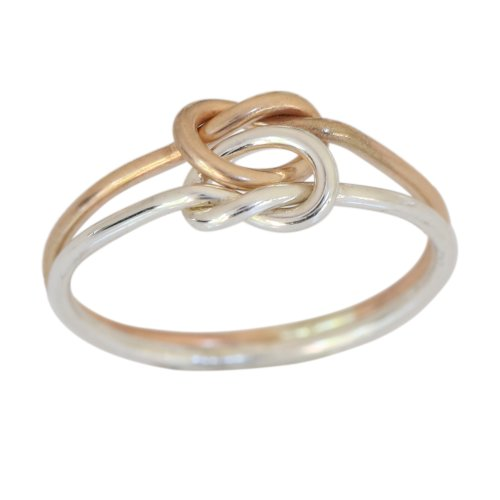 14k Gold Love Knot Toe Ring (5) 14k Love Toe Ring